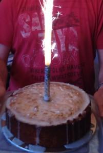 WOW!!! Sparkly Lemon Birthday Cake!!!