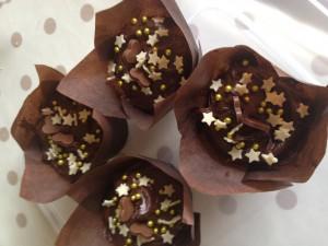 Chocolate Chunk Cupcakes. The stuff of dreams...........