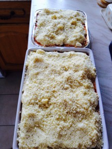 Chicken & Ricotta Lasagne - scrumptious!!!!!