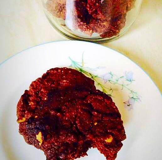 Double Chocolate Brazil Nut Cookies