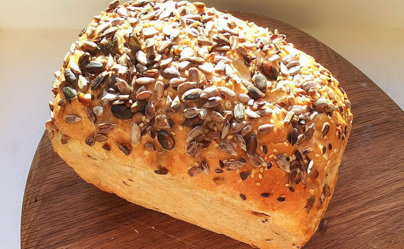 Crunchy Seeded Bread