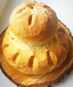 Easy homemade cottage loaf