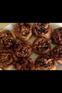 I'm amazed every time I bake these Pecan & Sultana sticky buns. They are scrummy!