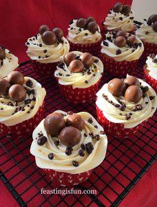 FF Nutella Hazelnut Covered Chocolate Marble Cake