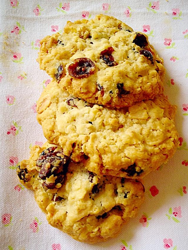 FF Cranberry Oat Cookies