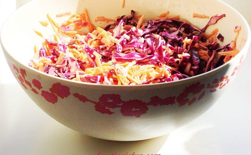 Crunchy Homemade Coleslaw