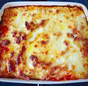 FF Chicken Four Cheese Lasagne