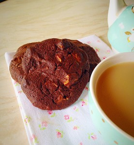 Extreme Chocolate Cookies - my favourite chocolate cookie ever!!
