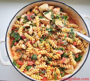 FF Chicken Pasta Pesto Salad