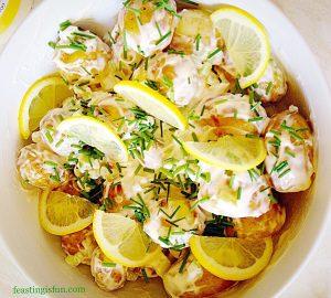 FF Lemon Garlic Vegetable Orzo