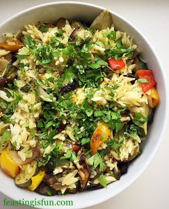 FF Lemon Garlic Vegetable Orzo