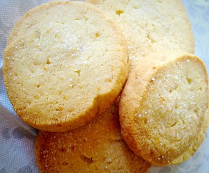 These are so delicious, my favourite Lemon Shortbread Cookies!