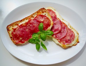 Perfect Panini Pizza