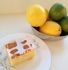 Zesty Lemon Lime Cake - sunshine in cake form!