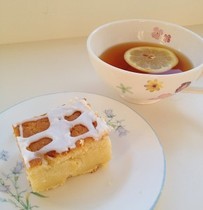 Zesty Lemon Lime Cake - perfect with lemon tea!