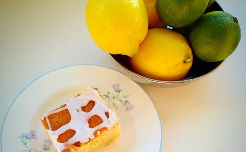 Zesty Lemon Lime Cake