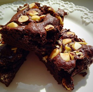 Brownies are perfect for sharing.