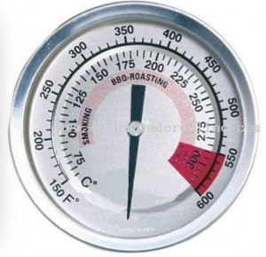 Oven thermometers are inexpensive and give you an accurate temperature reading.