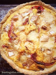 Wigmore Cheese Red Pepper Tart