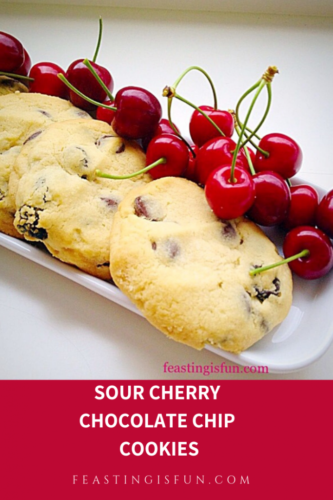 FF Sour Cherry Chocolate Chip Cookies