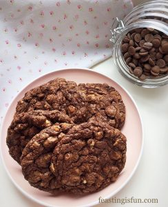 FF Walnut Fig Oat Cookies