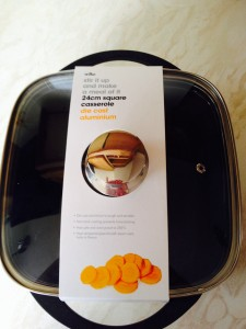 This clear lidded pan was perfect and made popping corn more fun for the kids!!