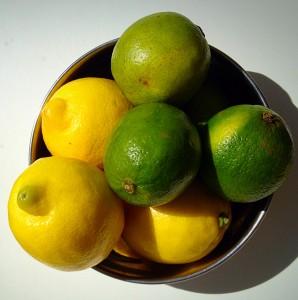 A simple bowl of lemon and limes - screams sunshine.
