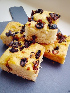 Sundried Tomato Olive Focaccia Bread - the Parmesan adds to the seasoning without making the Focaccia taste cheesey.