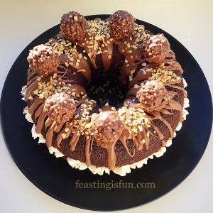 FF Marbled Chocolate Bundt Cake