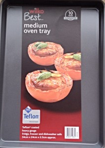 Wilko Best Medium Oven Tray.