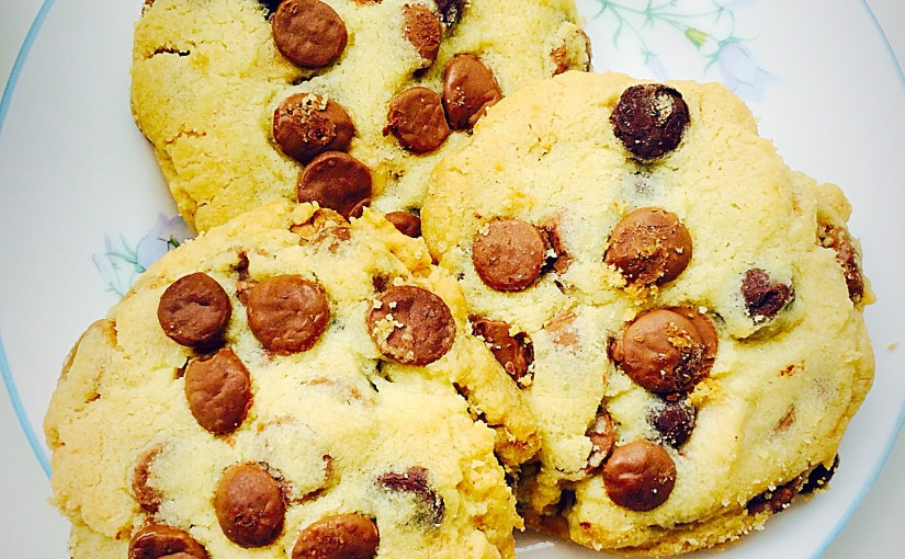 Cheer Up Chocolate Chip Cookies