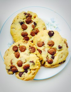 Cheer Up Chocolate Chip Cookies.