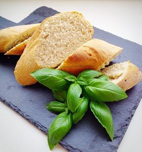 Easy Baguettes - perfect with cheese and chutney.