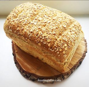Oat Bran White Bread