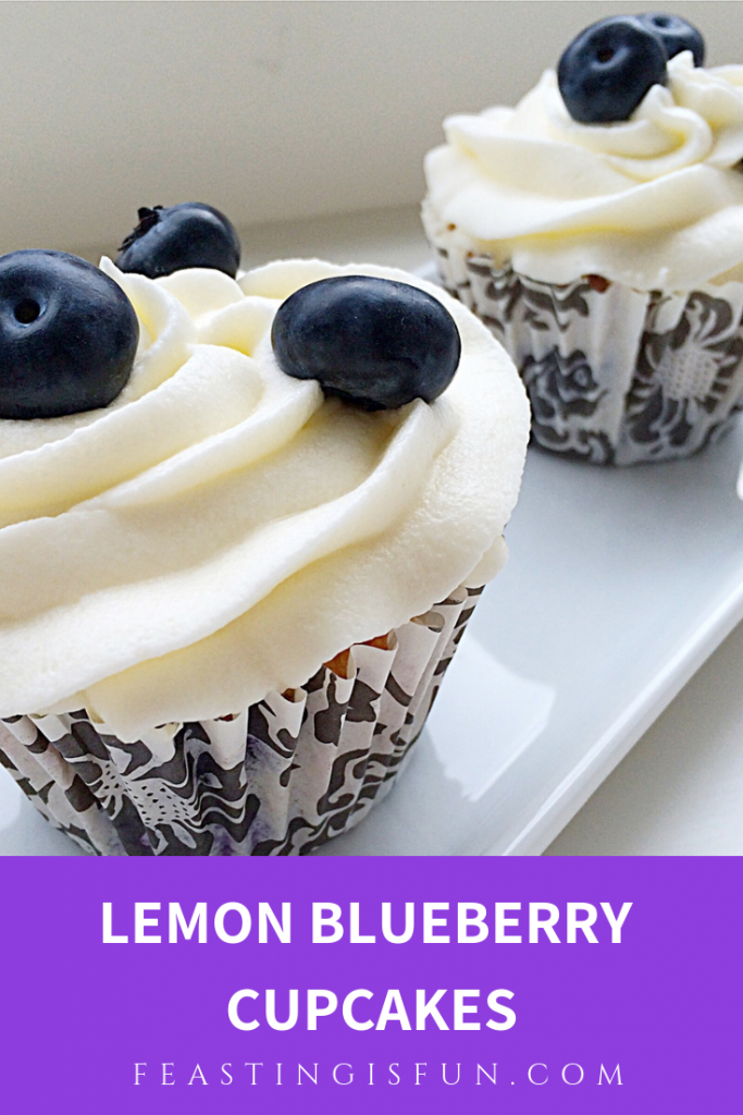 FF Lemon Blueberry Cupcakes