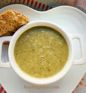 Creamy Low Fat Mushroom Soup