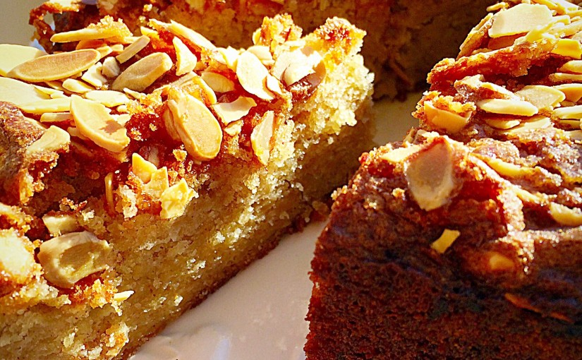 Autumn Apple Almond Cake