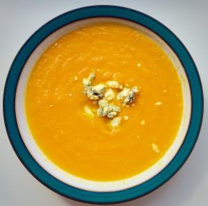 Carrot Soup warming and comforting www.feastingisfun.com