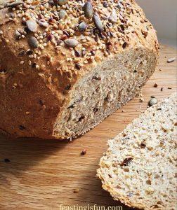 Seeded Cob Bread