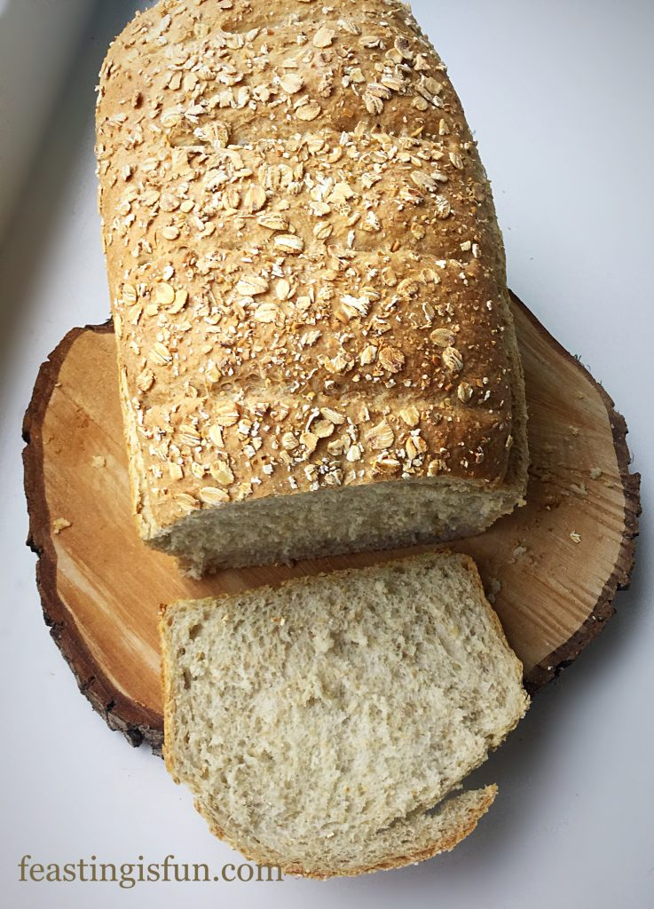 FF Oat Bran White Bread