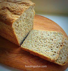 FF Oat Bran White Loaf