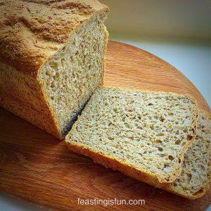 Lighter Wholemeal Bread Loaf