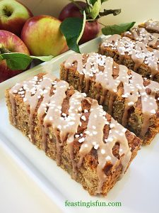 FF Autumn Apple Almond Cake