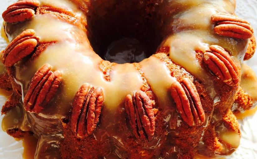Crazy Caramel Carrot Cake