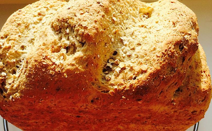 Oat Bran White Bread