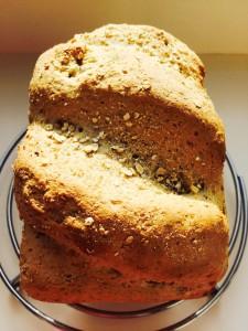 Oat Bran White Bread www.feastingisfun.com