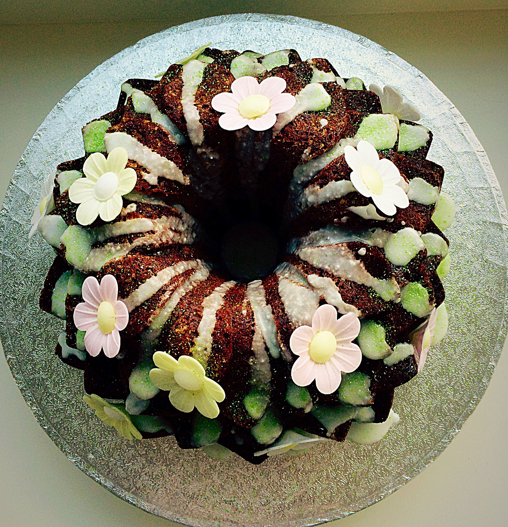 Lime Coconut Blossom Bundt Cake Feasting Is Fun
