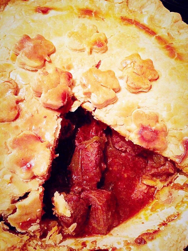 Steak Leek And Ale Pie