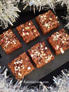 FF Chocolate Christmas Pudding Cookies