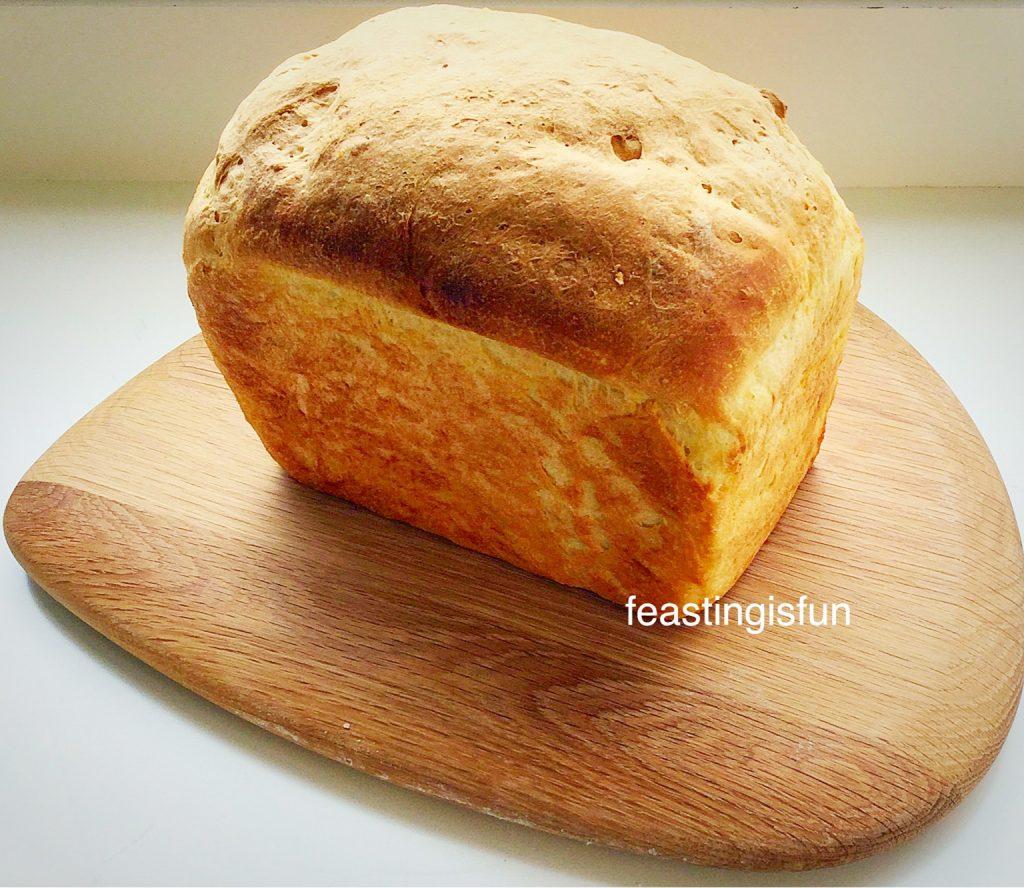 Farmhouse white bread loaf